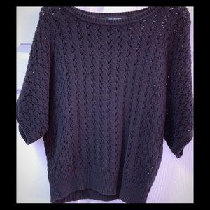89th & Madison black knit sweater